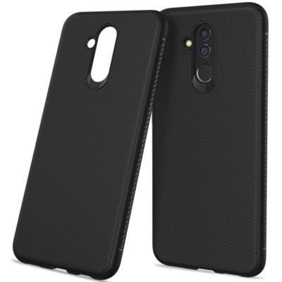 Huawei Mate 20 Lite Suojakuori Silikoni Musta