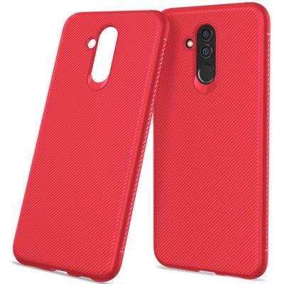 Huawei Mate 20 Lite Suojakuori Silikoni Punainen