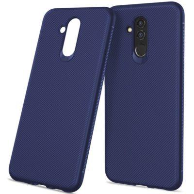 Huawei Mate 20 Lite Suojakuori Silikoni Sininen