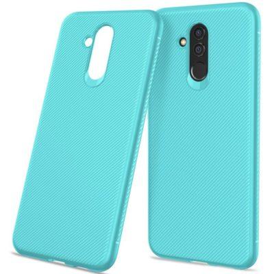 Huawei Mate 20 Lite Suojakuori Silikoni Turkoosi