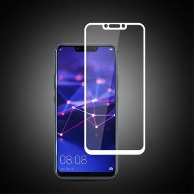 Huawei Mate 20 Lite Täysin Peittävä Panssarilasi Valkoinen