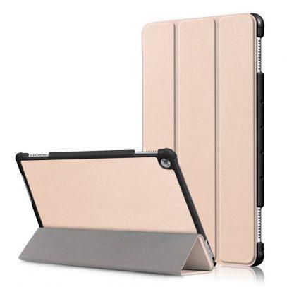 """Huawei MediaPad M5 Lite 10 10.1"""" Kotelo Kulta"""