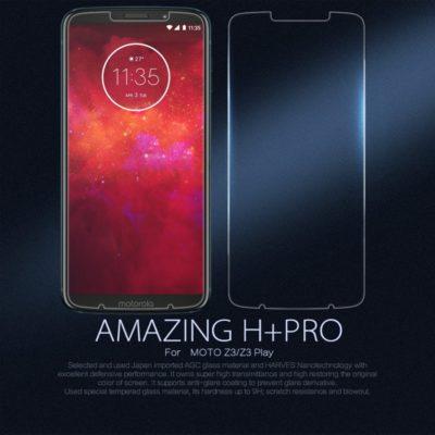 Motorola Moto Z3 Play Panssarilasi Nillkin Amazing H+Pro