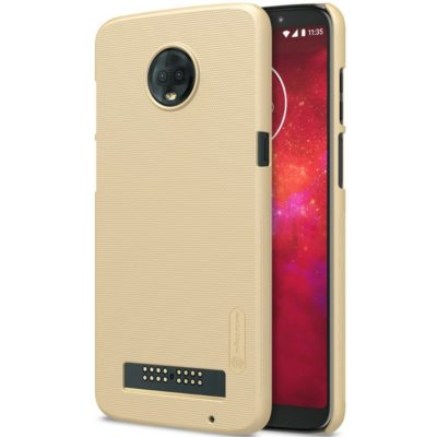 Motorola Moto Z3 Play Suojakuori Nillkin Kulta