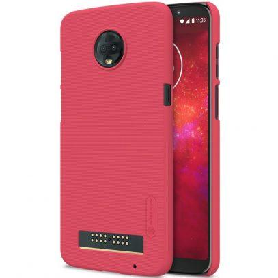 Motorola Moto Z3 Play Suojakuori Nillkin Punainen