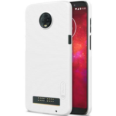 Motorola Moto Z3 Play Suojakuori Nillkin Valkoinen