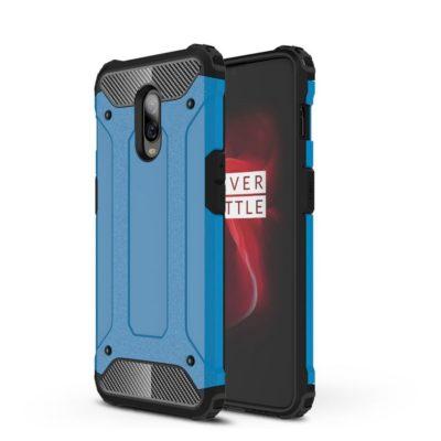 OnePlus 6T Suojakuori 2-osainen Sininen