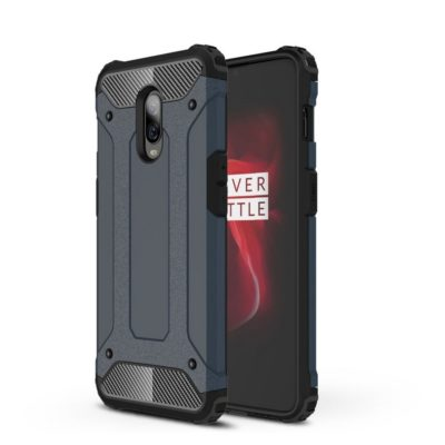OnePlus 6T Suojakuori 2-osainen Tummansininen