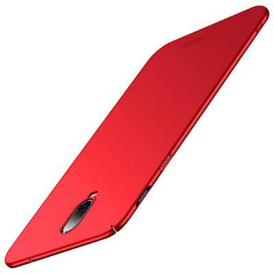 OnePlus 6T Suojakuori MOFI Slim Punainen