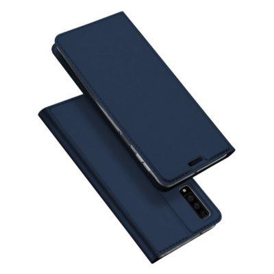 Samsung Galaxy A7 (2018) Kotelo Dux Ducis Sininen