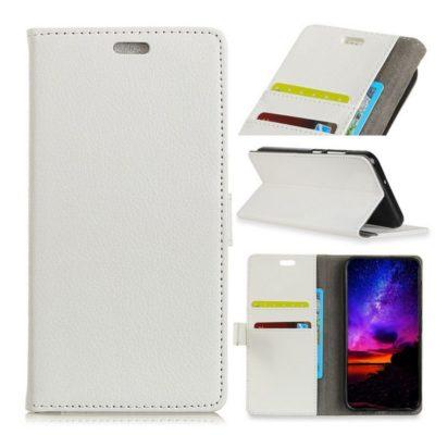 Samsung Galaxy A7 (2018) Lompakkokotelo Valkoinen