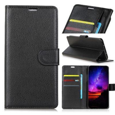 Samsung Galaxy J4+ (2018) Lompakkokotelo Musta