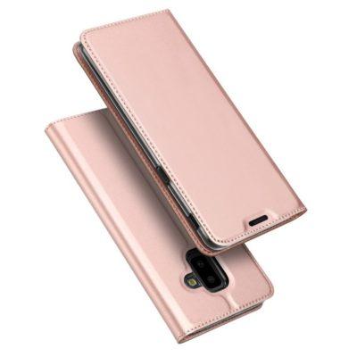 Samsung Galaxy J6+ (2018) Kotelo Dux Ducis Ruusukulta