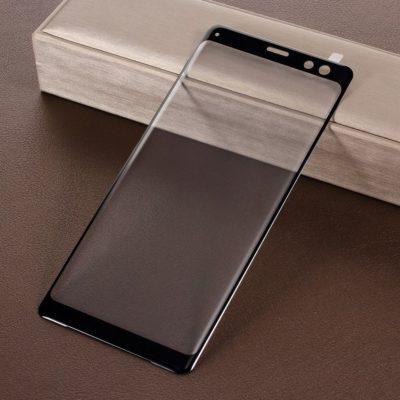 Sony Xperia XZ3 Täysin Peittävä Panssarilasi Musta