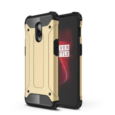OnePlus 6T Suojakuori 2-osainen Kulta