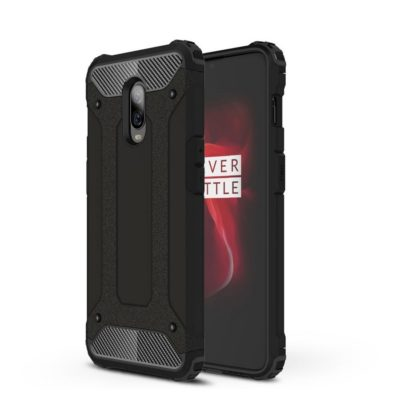 OnePlus 6T Suojakuori 2-osainen Musta