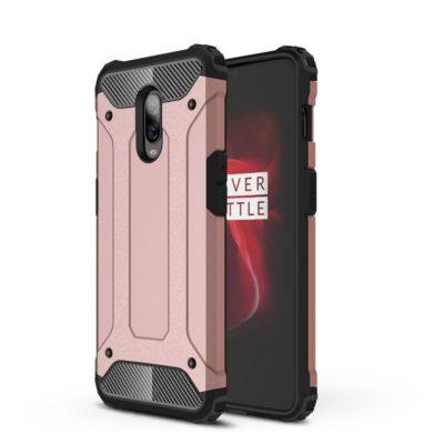OnePlus 6T Suojakuori 2-osainen Ruusukulta