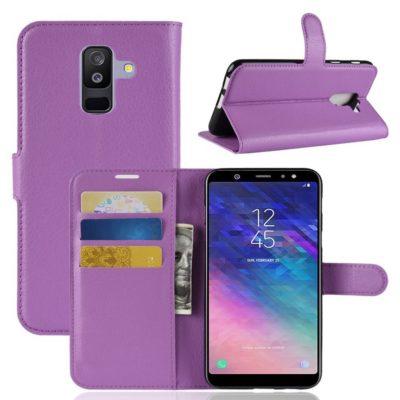 Samsung Galaxy A6+ (2018) Suojakotelo Violetti