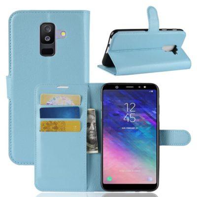 Samsung Galaxy A6+ (2018) Suojakotelo Vaaleansininen