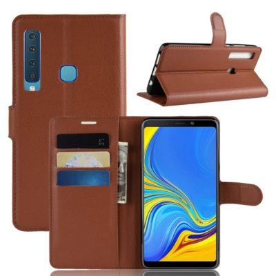 Samsung Galaxy A9 (2018) Suojakotelo Ruskea
