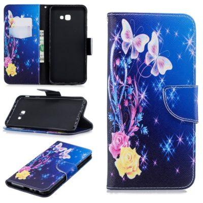 Samsung Galaxy J4+ (2018) Suojakotelo Perhonen 1