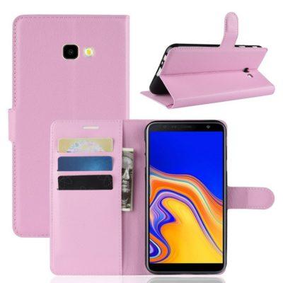 Samsung Galaxy J4+ (2018) Suojakotelo Vaaleanpunainen