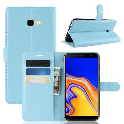 Samsung Galaxy J4+ (2018) Suojakotelo Vaaleansininen
