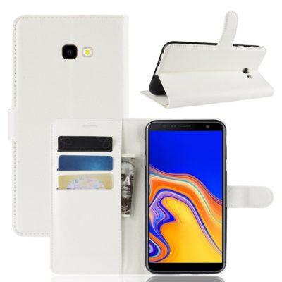 Samsung Galaxy J4+ (2018) Suojakotelo Valkoinen