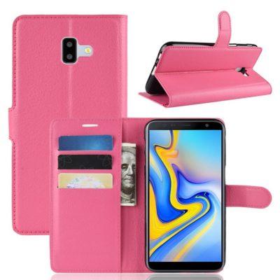 Samsung Galaxy J6+ (2018) Lompakkokotelo Pinkki