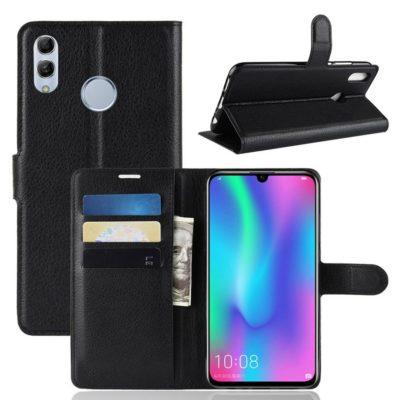 Huawei P Smart (2019) Kotelo PU-Nahka Musta