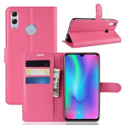 Huawei P Smart (2019) Kotelo PU-Nahka Pinkki