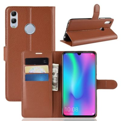 Huawei P Smart (2019) Kotelo PU-Nahka Ruskea