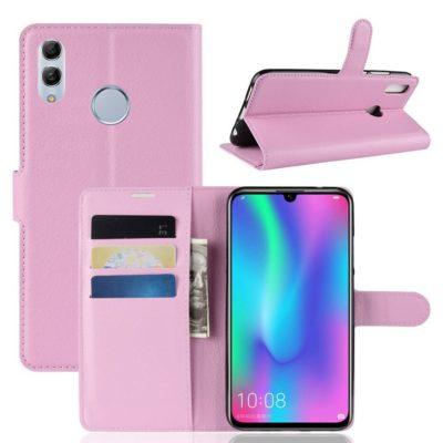 Huawei P Smart (2019) Kotelo PU-Nahka Vaaleanpunainen