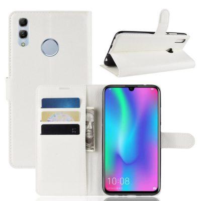 Huawei P Smart (2019) Kotelo PU-Nahka Valkoinen