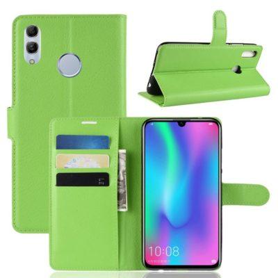 Huawei P Smart (2019) Kotelo PU-Nahka Vihreä