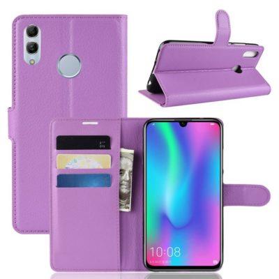 Huawei P Smart (2019) Kotelo PU-Nahka Violetti