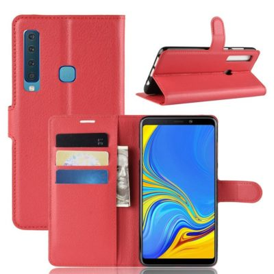 Samsung Galaxy A9 (2018) Suojakotelo Punainen