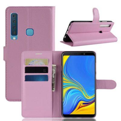 Samsung Galaxy A9 (2018) Suojakotelo Vaaleanpunainen
