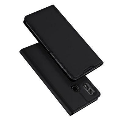 Huawei Honor 10 Lite Kotelo Dux Ducis Tummanharmaa