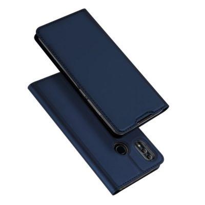 Huawei Honor 10 Lite Kotelo Dux Ducis Tummansininen