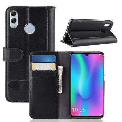 Huawei Honor 10 Lite Kotelo Musta Nahka