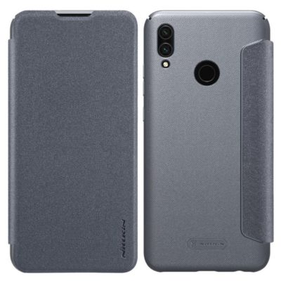 Huawei Honor 10 Lite Kotelo Nillkin Sparkle Musta