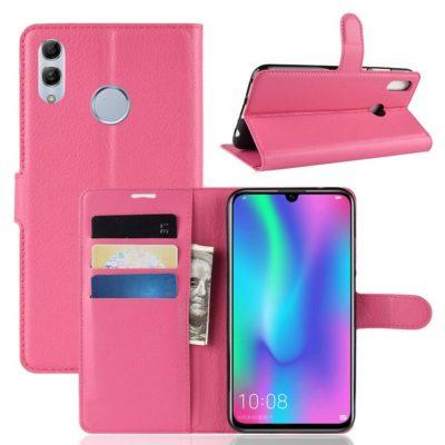 Huawei Honor 10 Lite Kotelo Pinkki Lompakko