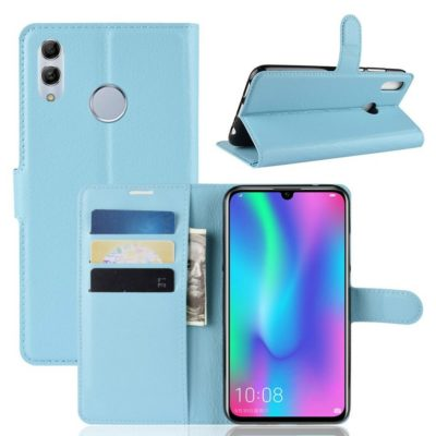 Huawei Honor 10 Lite Kotelo Vaaleansininen Lompakko