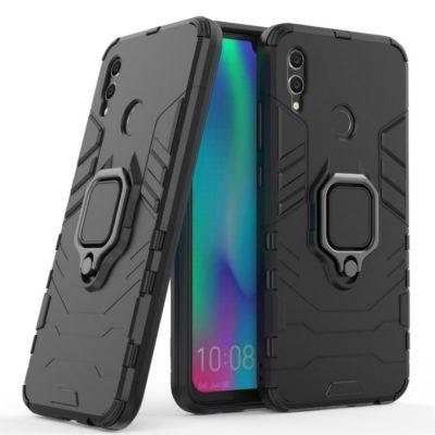 Huawei Honor 10 Lite Sormus Suojakuori Musta