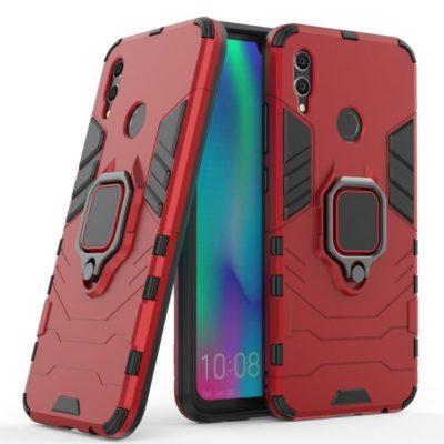Huawei Honor 10 Lite Sormus Suojakuori Punainen