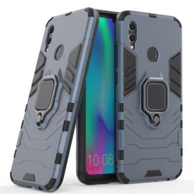 Huawei Honor 10 Lite Sormus Suojakuori Tummansininen