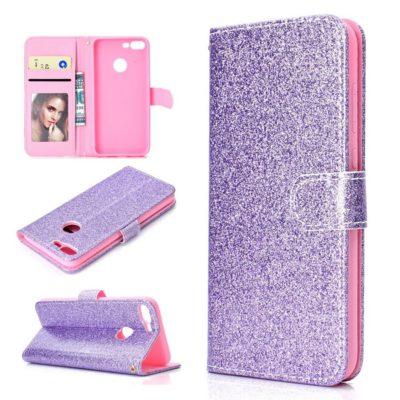 Huawei Honor 9 Lite Suojakotelo Glitter Violetti