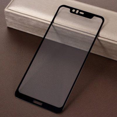 Nokia 5.1 Plus Täysin Peittävä Panssarilasi RURIHAI Musta