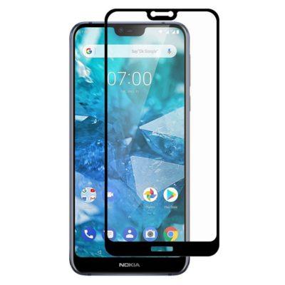 Nokia 7.1 (2018) Täysin Peittävä Panssarilasi Hat Prince